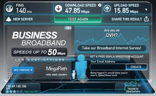 ipvanish canada vpn server speed test #9