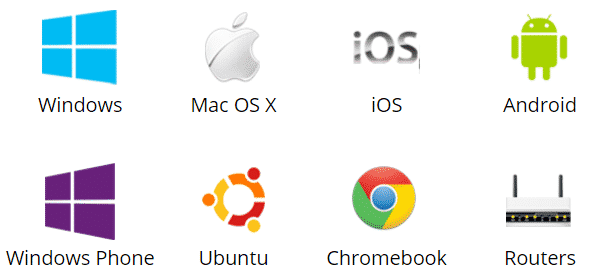ipvanish supported devices